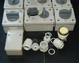 Электрокомплект влаго пыле водо защитный для гаража и дачи, фото №4