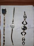 Часы и браслеты позолота Ау Au, фото №3