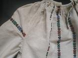 Старинная сорочка вышиванка. Сорочка старовинна, буденна, фото №8