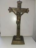 Крест бронзовый лот 2, фото №2