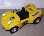 Машинка игрушечная СССР электромеханическая гоночная БАГГИ 5, фото №2