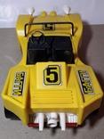 Машинка игрушечная СССР электромеханическая гоночная БАГГИ 5, фото №6