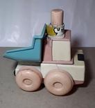 Детская Машинка Каталка СССР ,Клеймо,на запчасти, фото №2