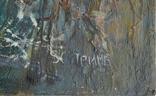 """Картина """"Благовещение"""" 1998 г. Художник  Принь С., фото №5"""