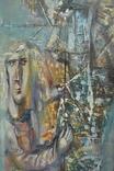 """Картина """"Благовещение"""" 1998 г. Художник  Принь С., фото №7"""