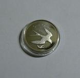 Белиз, 1 цент 1974 - Птицы - серебро, фото №2
