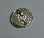 Белиз, 1 цент 1974 - Птицы - серебро, фото №4