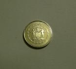 Белиз, 10 центов 1974 - Птицы - серебро, фото №4