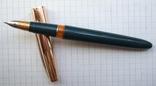"""Перьевая ручка """"Hero-330"""". Пишет довольно мягко, тонко и насыщенно., фото №2"""