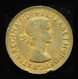 Австралия 1 пенни 1956, фото №3
