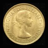 Великобритания пенни 1953 Unc коронационная, фото №3