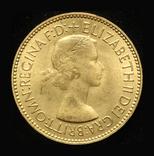 Великобритания 1/2 пенни 1953 Unc коронационная, фото №2