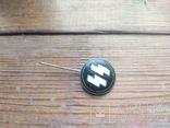 Знак СС , качественная копия ,эмаль, клейма, 3 рейх, фото №3