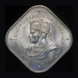 Джерси 10 шиллингов 1966  1000 летие норманского завоевания, фото №2