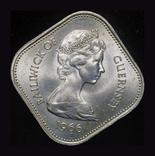 Джерси 10 шиллингов 1966  1000 летие норманского завоевания, фото №3