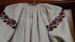 Полотняна жіноча сорочка, фото №5