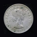 Великобритания 6 пенсов 1966, фото №3