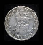 Великобритания 6 пенсов 1927 серебро, фото №2