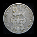 Великобритания шиллинг 1826 серебро, фото №3