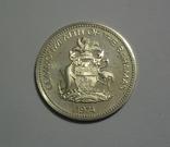Багамские Острова, 10 долларов 1974 - 1 год Независимости - серебро, 50.4 грамм, фото №4