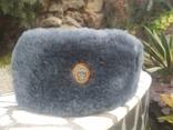 Шапка зимняя офицерская р.58, фото №3