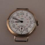 """Часы швейцарской фирмы Omega с маркировкой Baume & Mercier (""""B.M."""" в овале)., фото №2"""