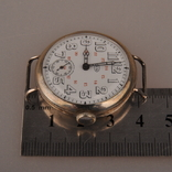 """Часы швейцарской фирмы Omega с маркировкой Baume & Mercier (""""B.M."""" в овале)., фото №7"""