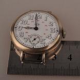 """Часы швейцарской фирмы Omega с маркировкой Baume & Mercier (""""B.M."""" в овале)., фото №9"""