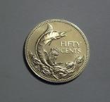 Багамские Острова, 50 центов 1974 - серебро, фото №3