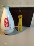 Набор «Пекинская опера» (ваза и настольное панно, латунь, фарфор, фото №6