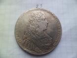 Рубль 1729  год копия, фото №2