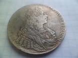 Рубль 1729  год копия, фото №3