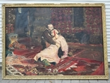 Иван Грозный убивает сына. Репродукция., фото №2