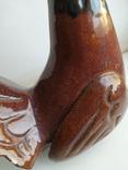 Птица керамика СССР. Н-20 см., фото №9