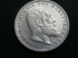 3 марки 1908 F Вюртемберг, фото №3