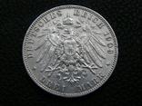 3 марки 1909 Е Саксония. Фридрих Август., фото №4