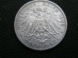 3 марки 1908 G Баден. Фридрих 2., фото №5