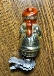 Ёлочная игрушка Мальчик, СССР, фото №3