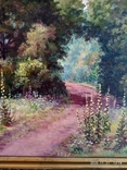 """Пейзаж """"Лето"""", автор Харченко В.Т., размер 76*55см, фото №4"""