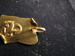 """""""Козерог"""". Золото 750 проба, фото №4"""