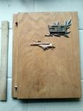 Юбилейная папка майору авиации, фото №2