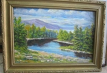 Река Уж. Автор Владкос 1992 г, фото №2