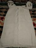 Старинная сорочка. Миргород. Вышивка крестиком. Полотно., фото №11