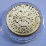 50 рублей 2004 г. Proof (1/4 oz 999,9), фото №5