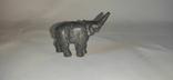 Фигурка слона. Чугун, фото №3