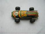 Машинка москва-80 с олимпийским мишкой номер 4, фото №3