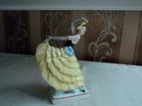 Танцовщица, Германия, арт-деко, 20,5 см, фото №4
