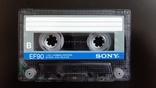 Касета Sony EF 90 (Release year 1986) 3, фото №5