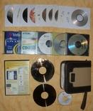 Компакт диски и сумка для дисков + бонус., фото №3