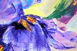 "Картина маслом ""Mysterious Flower"", фото №3"